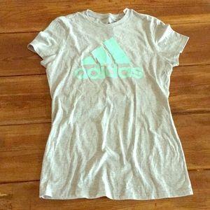 Grey Adidas Shirt